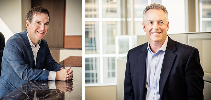Succession Specialists: Dalton (L) and Giordano