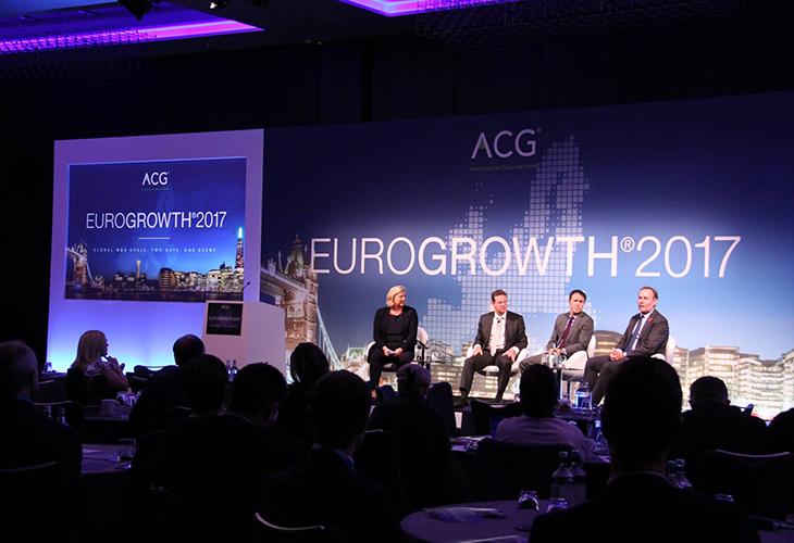 A keynote panel addresses cross-border dealmaking.