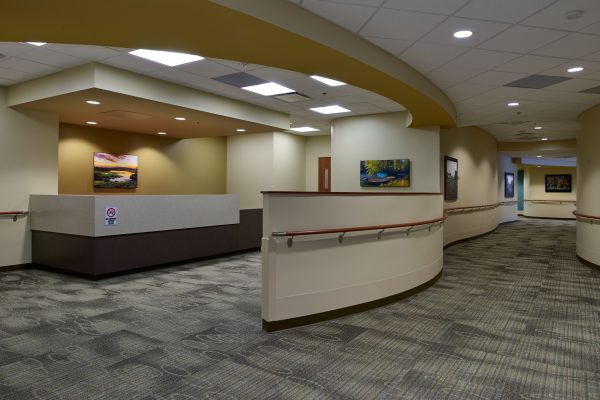 The clinic area