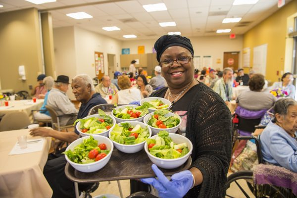 The PACE program places a strong focus on nutrition